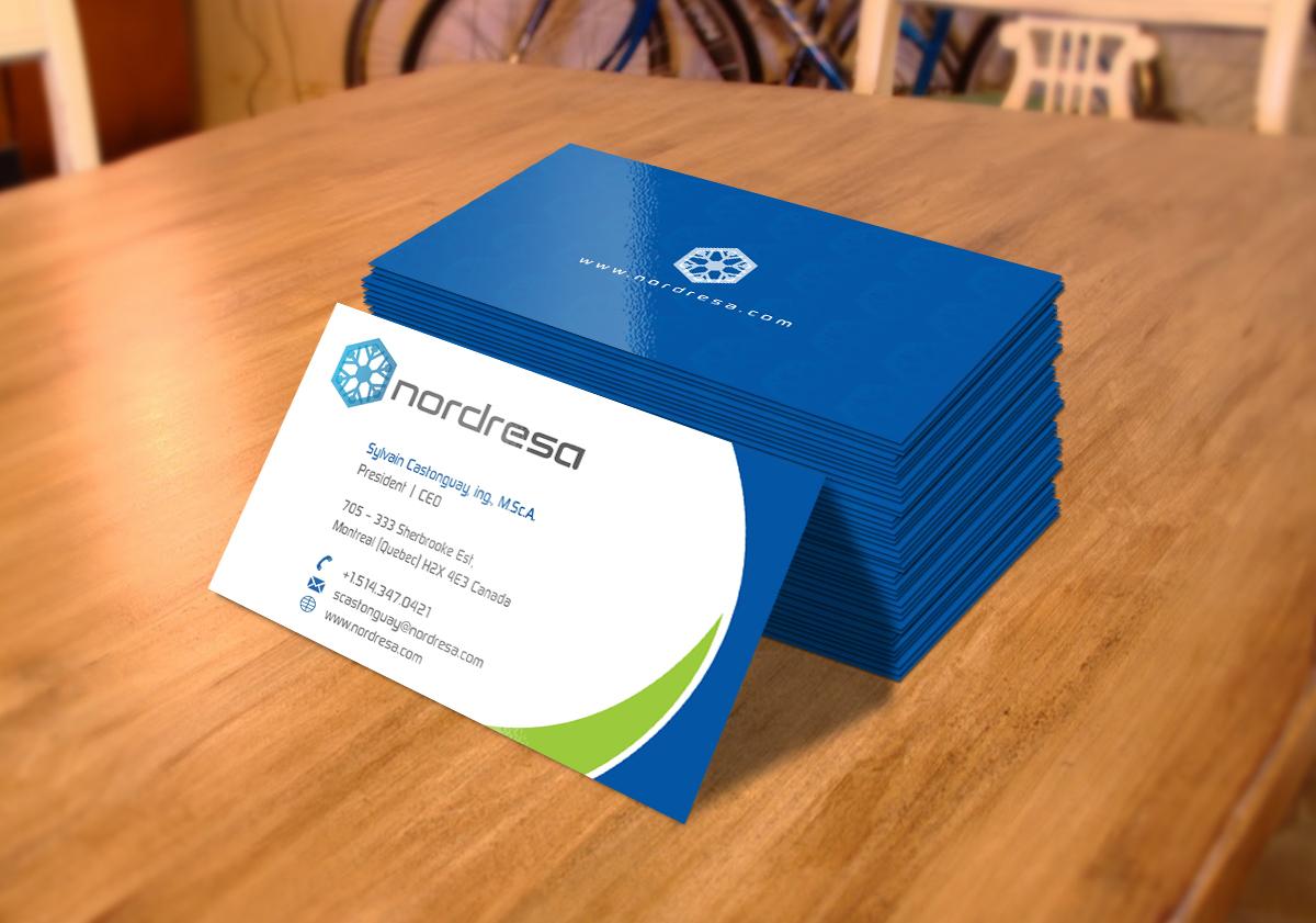 Professional masculine business card design for sylvain business card design by taimoor for nordresa amazing business cards challenge design 6579799 magicingreecefo Images