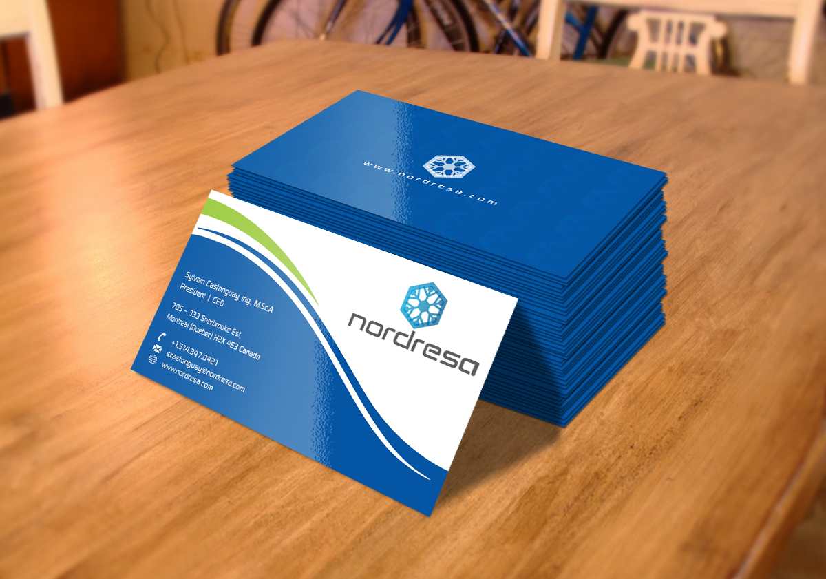 Professional, Masculine Business Card Design for Sylvain Castonguay ...