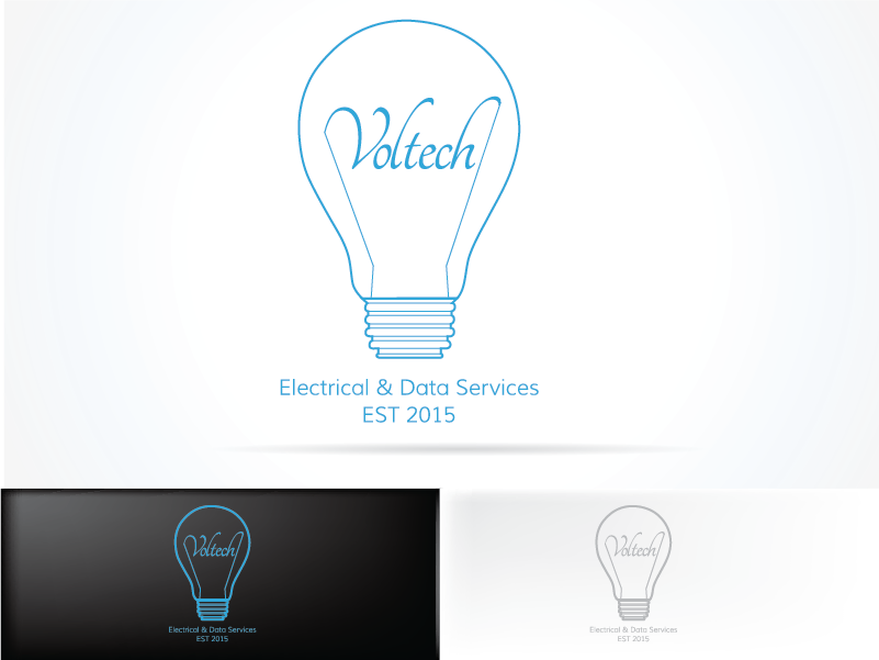 Modern, Professional, Electrical Logo Design for Voltech