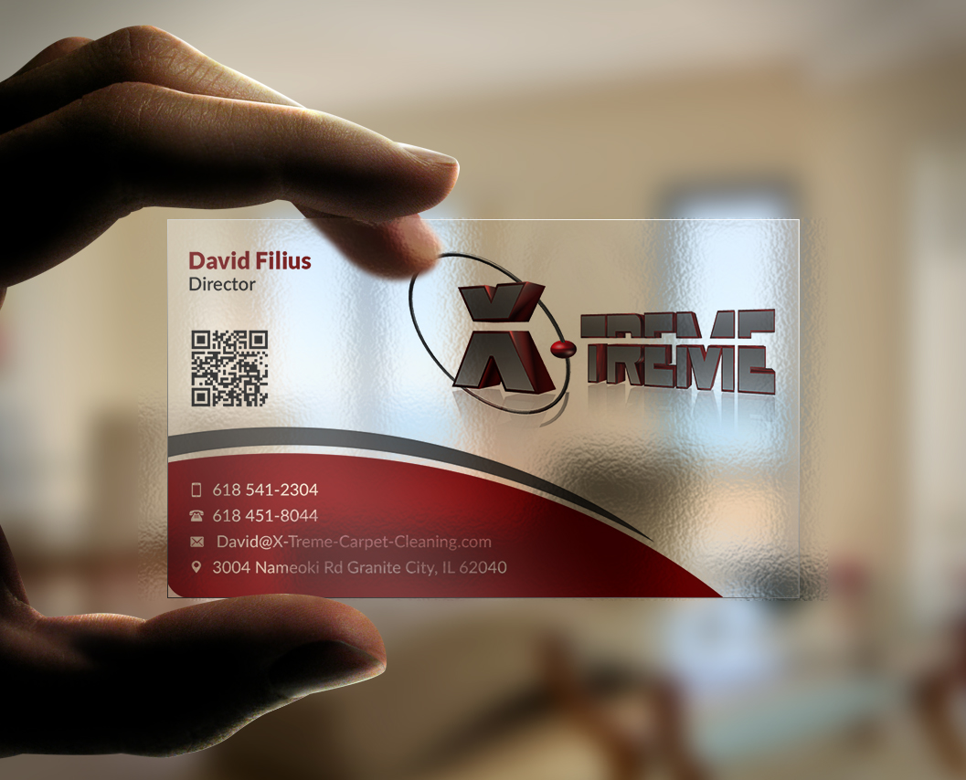 Business card design for david filius by designing birds design business card design by designing birds for carpet cleaning business sesighn design 6572879 baanklon Gallery