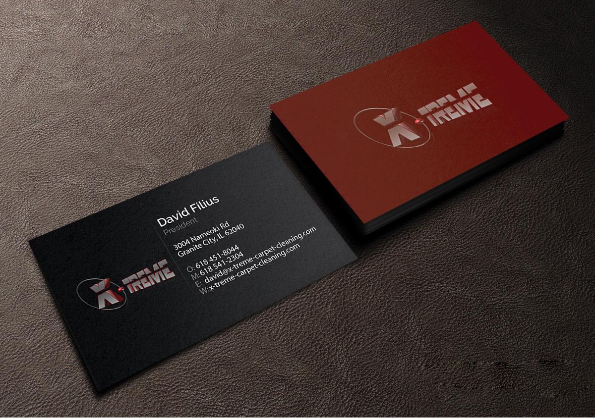Business card design for david filius by creations box 2015 business card design by creations box 2015 for carpet cleaning business sesighn design 6575992 baanklon Gallery