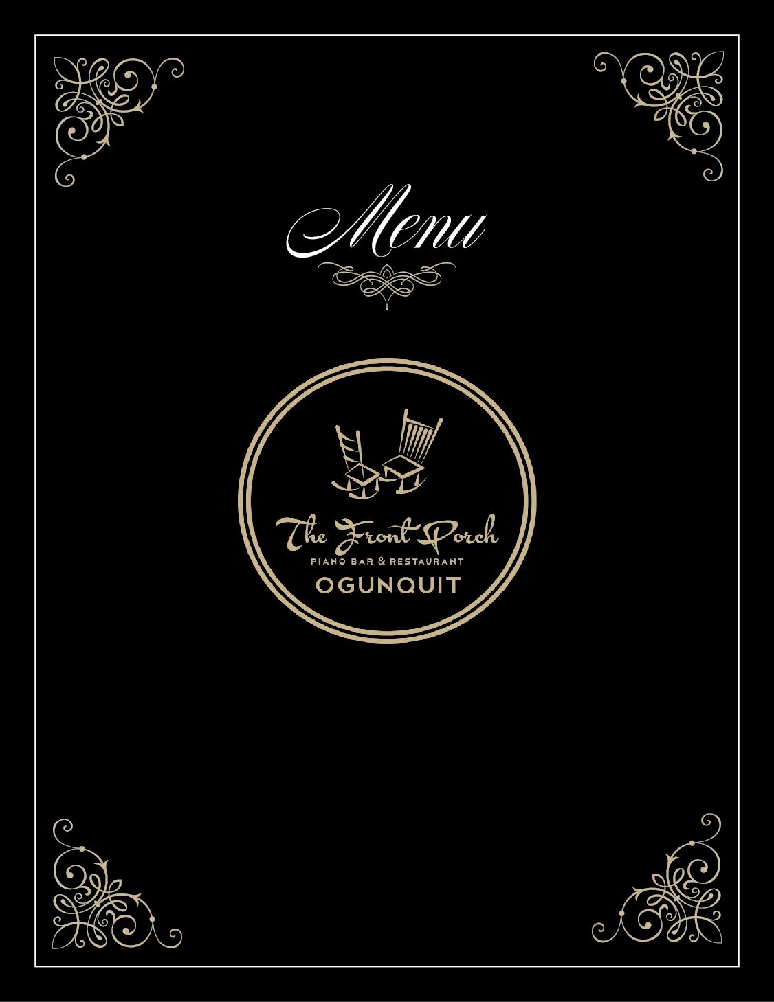 Elegante Jugueton Restaurant Diseno De Menu For Wescott Enterprises Llc Por Raywind Diseno 6566047