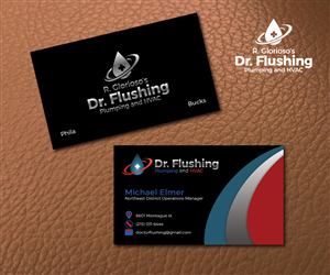 Business Card Design 6602893 Submitted To Plumbing And Heating