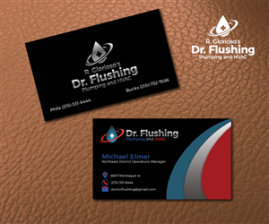 Business Card Design 6603060 Submitted To Plumbing And Heating