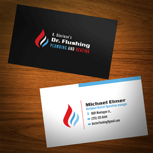 49 Masculine Business Card Designs Design By Riz For This