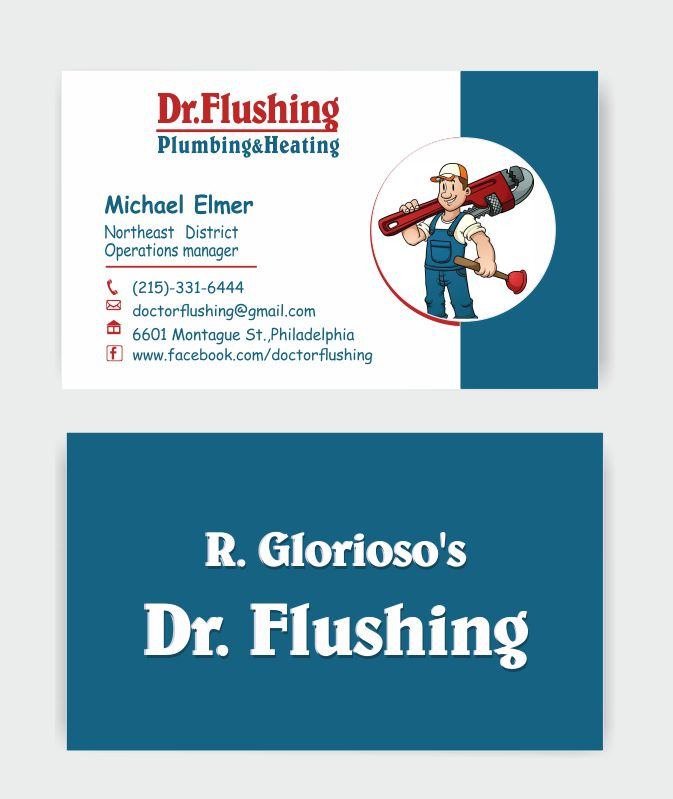 Business Cards Plumbing Designs Images - Card Design And Card Template