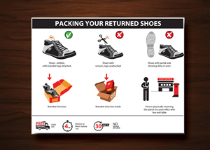 Illustration Design by uk - Graphics for the shipping and returns policy, u ...