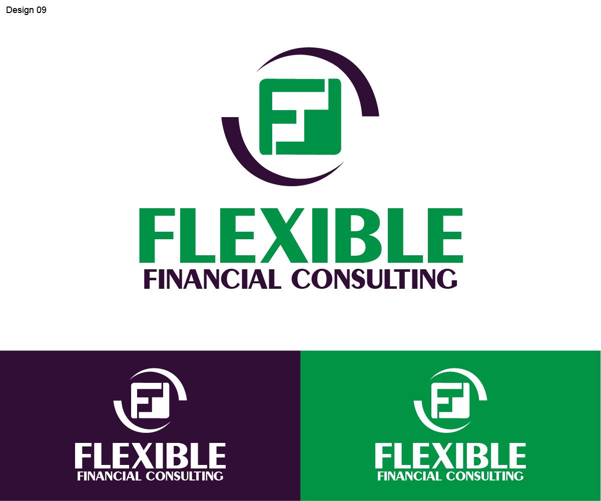 Modern elegant business logo design for flexible for Design consultant