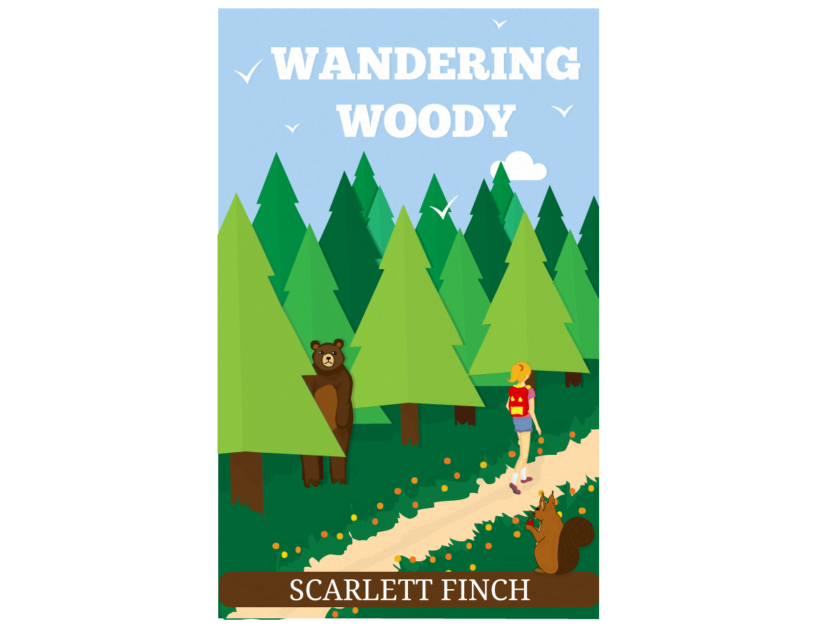 Book Cover Design Australia ~ Personable playful book cover design for scarlett finch