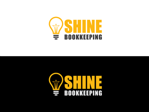 Logo Design by ICreativeCreations - Shine Bookkeeping needs a professional, yet fun ...