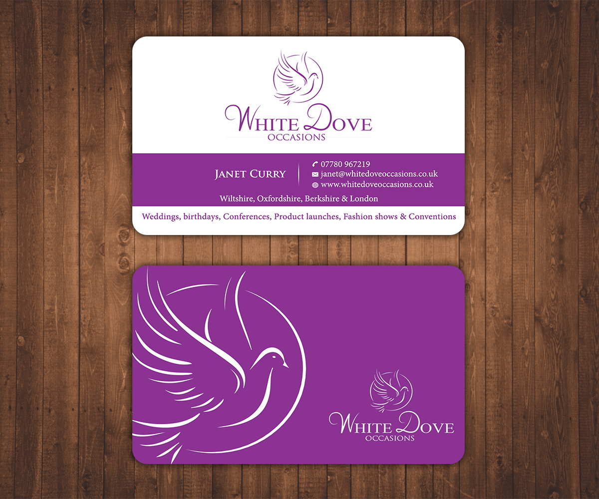123 elegant upmarket wedding business card designs for a wedding business card design design 6606310 submitted to business card for wedding event magicingreecefo Gallery