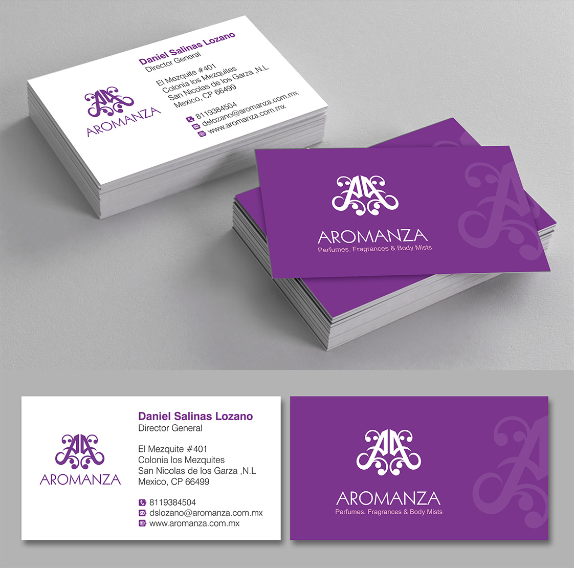 Elegant, Playful Logo Design for Aromanza by sanalkumar   Design ...