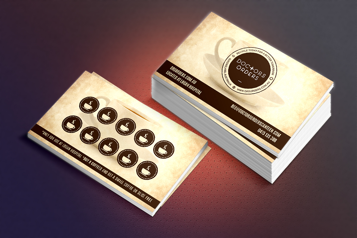 Modern, Professional, Hospitality Business Card Design for a Company ...