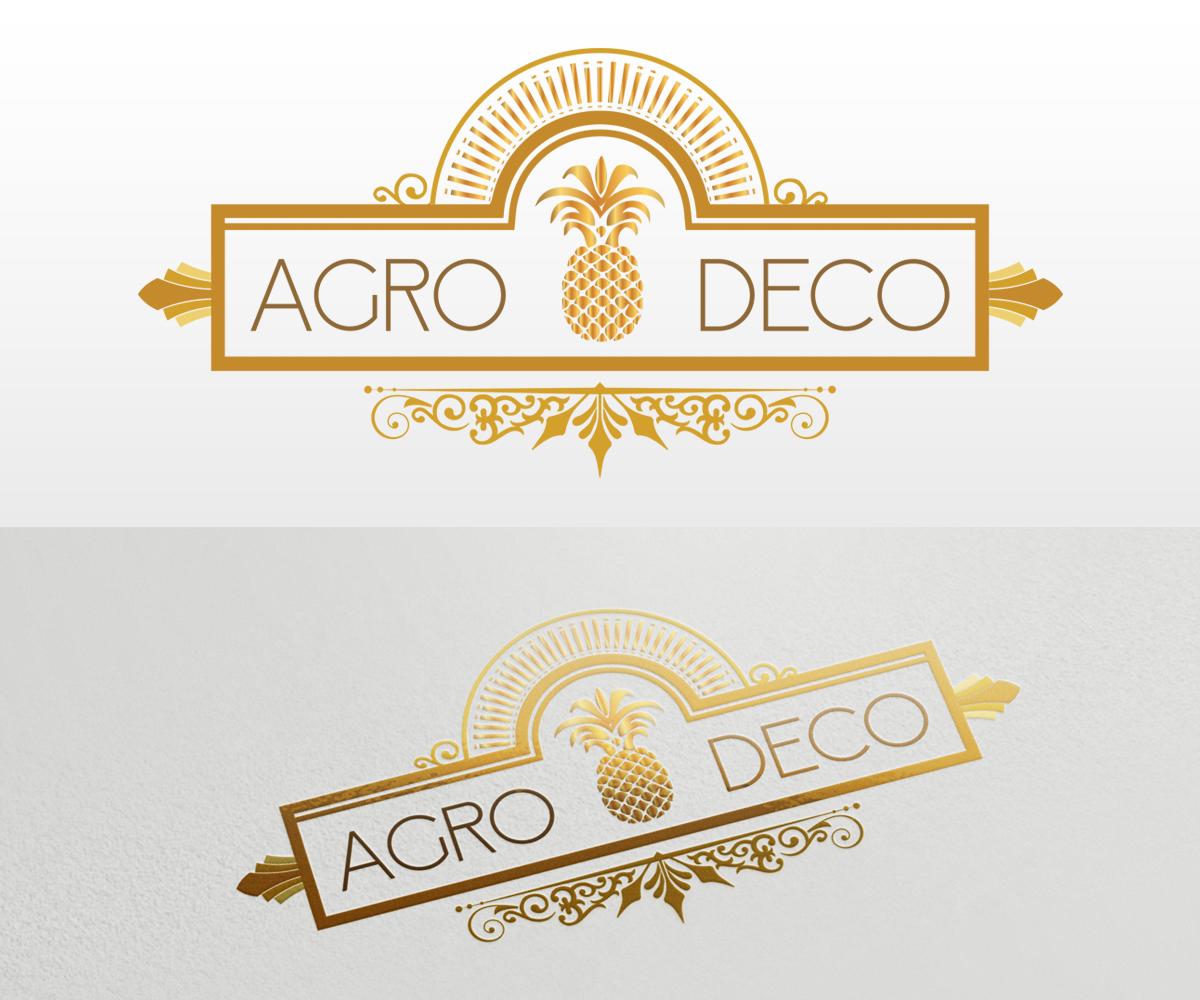 Modern Art Deco Logos