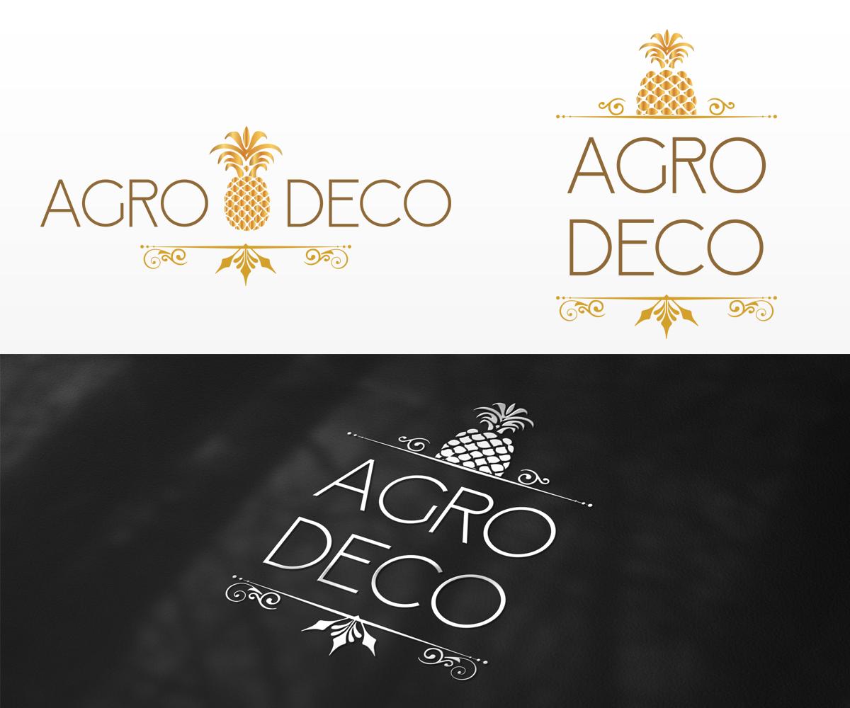 modern upmarket logo design for agro deco by bisuality design 6690198. Black Bedroom Furniture Sets. Home Design Ideas