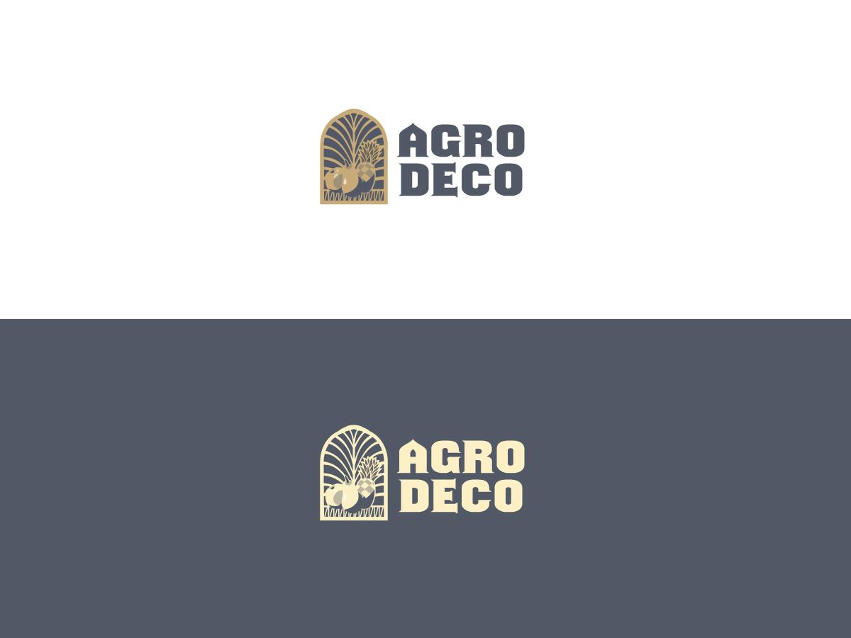 modern upmarket logo design for agro deco by designwoori design 6672864. Black Bedroom Furniture Sets. Home Design Ideas