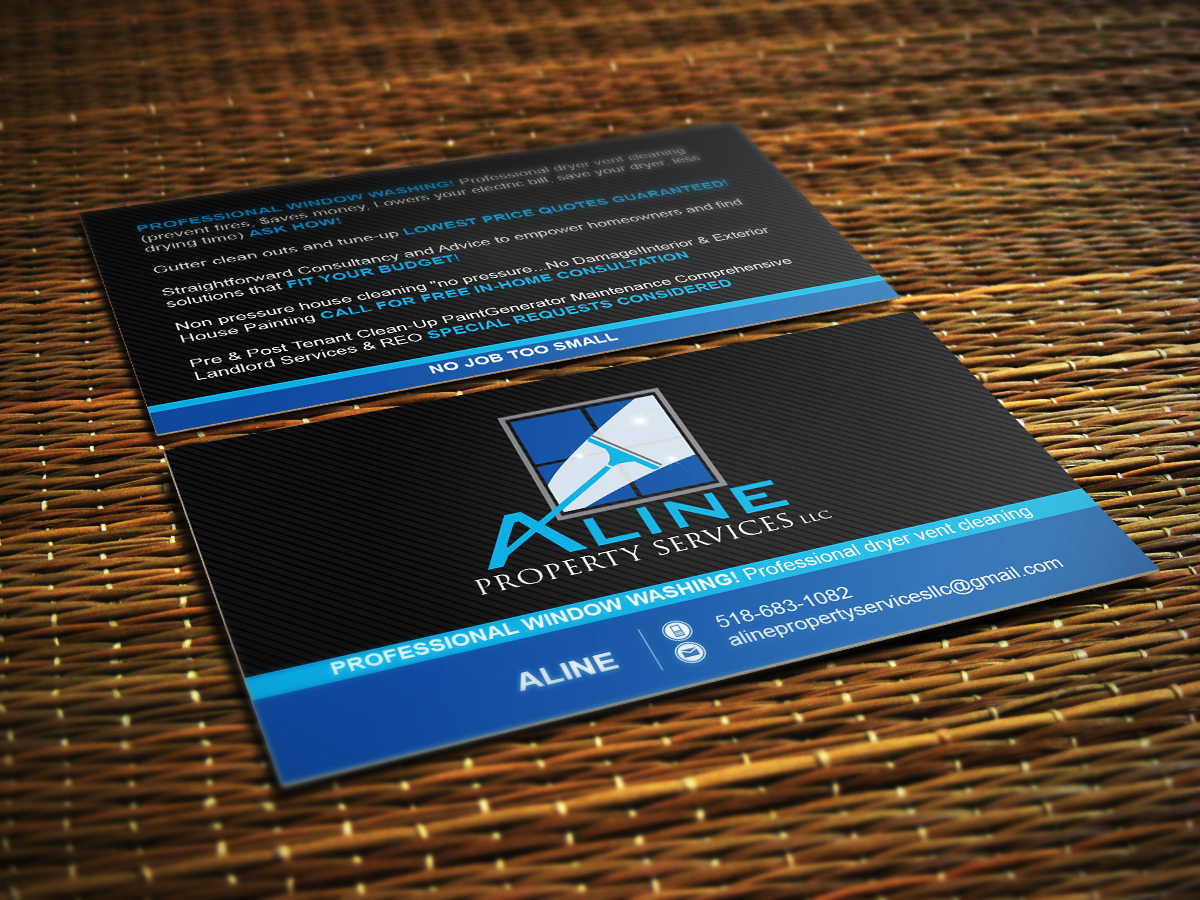 38 Professional Business Card Designs | Property Maintenance ...