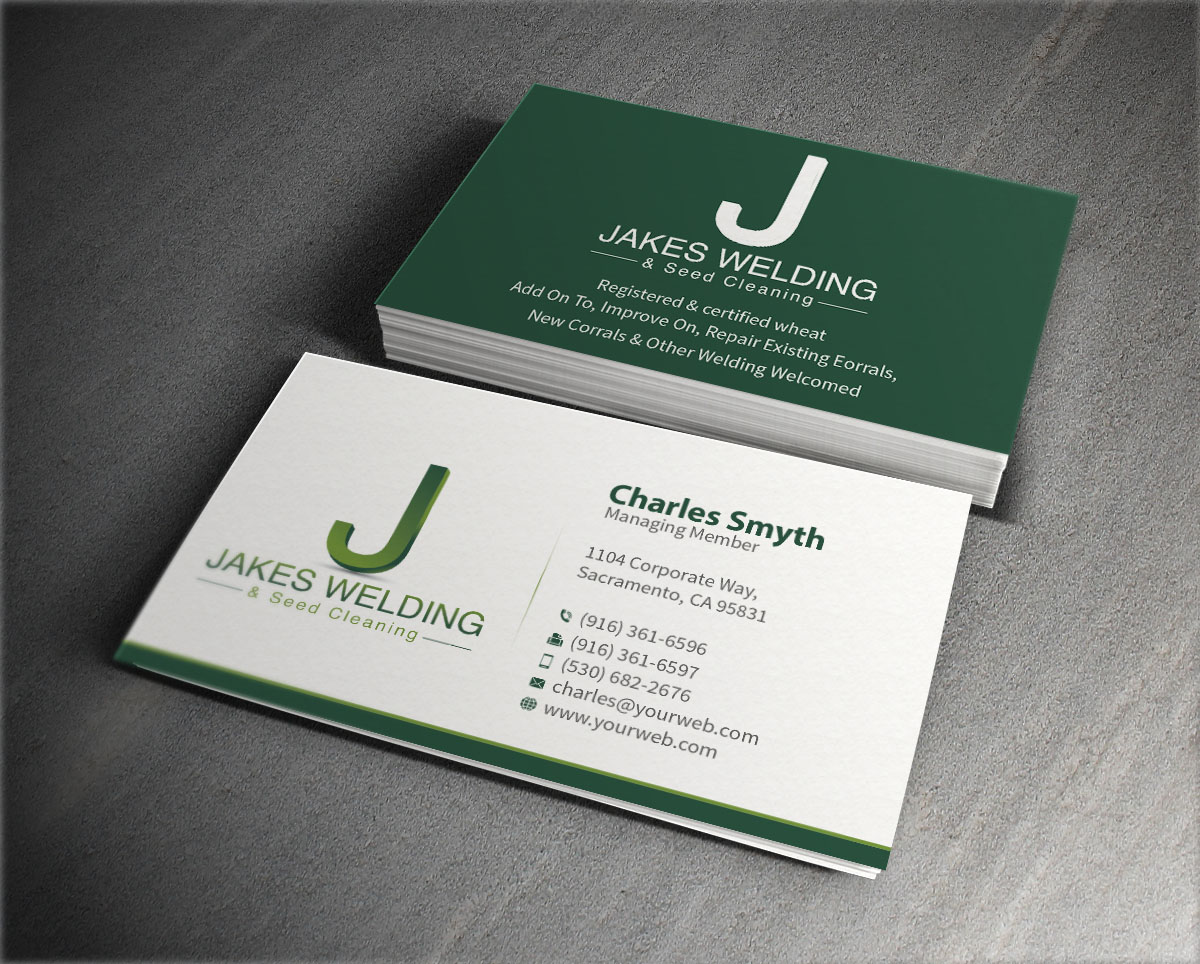 Elegant, Playful, Agriculture Business Card Design for a Company by ...
