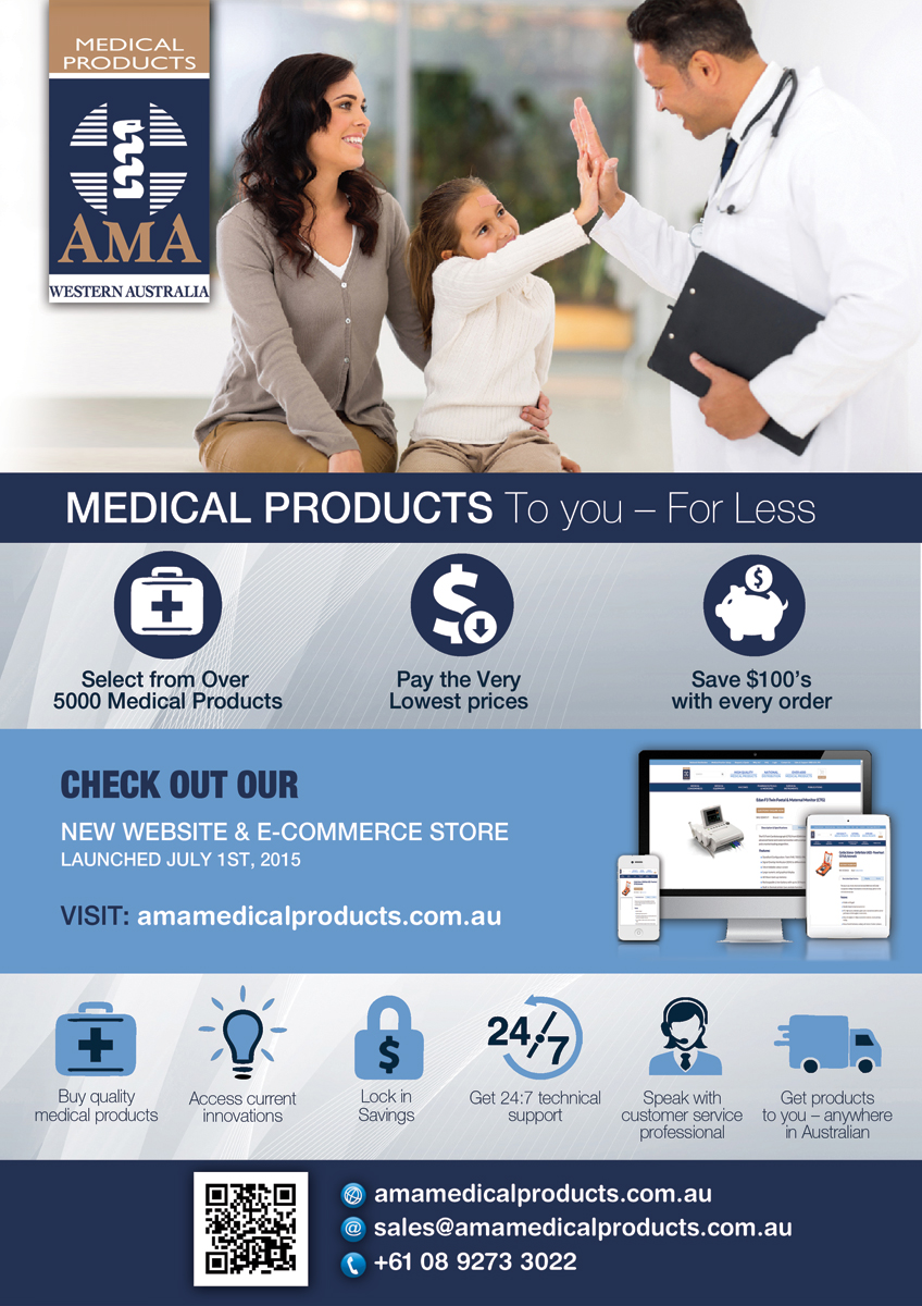 Atrevido profesional flyer design for ama medical for Medical product design companies