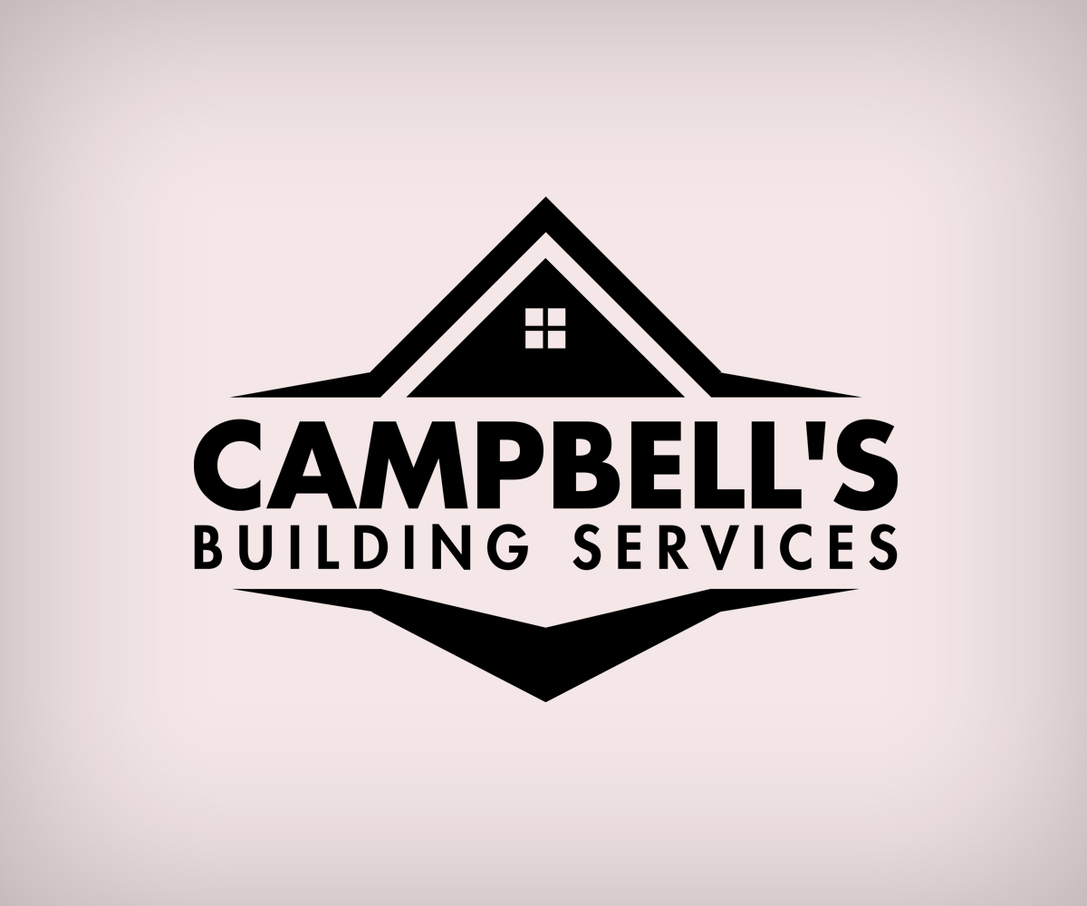 Construction logo design for campbell 39 s building services for Building services design