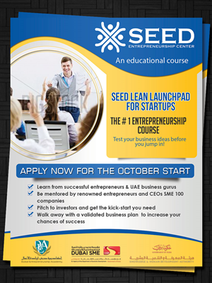 33 Modern Flyer Designs | Education Flyer Design Project for Seed ...