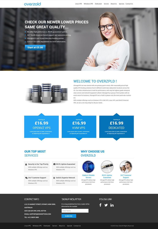 Bold, Playful, Internet Service Provider Web Design for Zimply