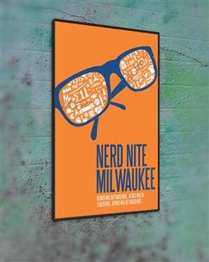 modern masculine event poster design by cb1318cb1318