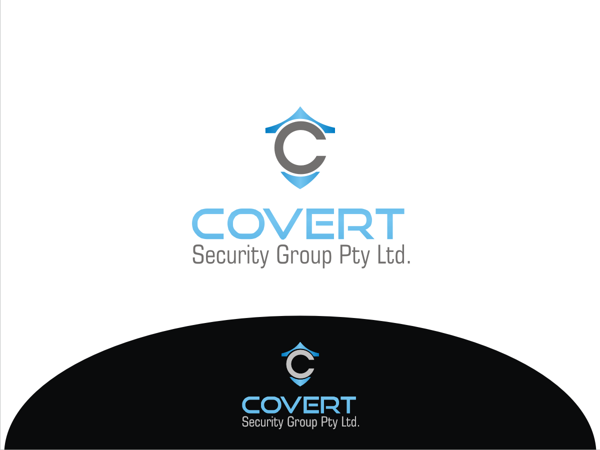 Bold modern it company logo design for covert security for Outer space design group pty ltd