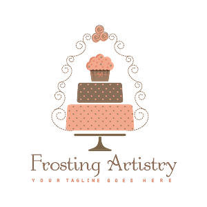 82 Upmarket Feminine Wedding Logo Designs For Frosting
