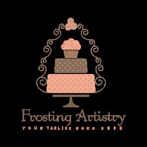 82 Upmarket Feminine Wedding Logo Designs For Frosting