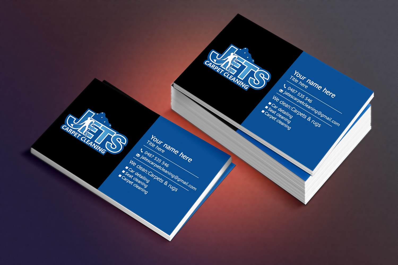Elegant playful business card design for john fairbank by business card design by sandaruwan for carpet cleaning car detailing design 6669734 baanklon Gallery