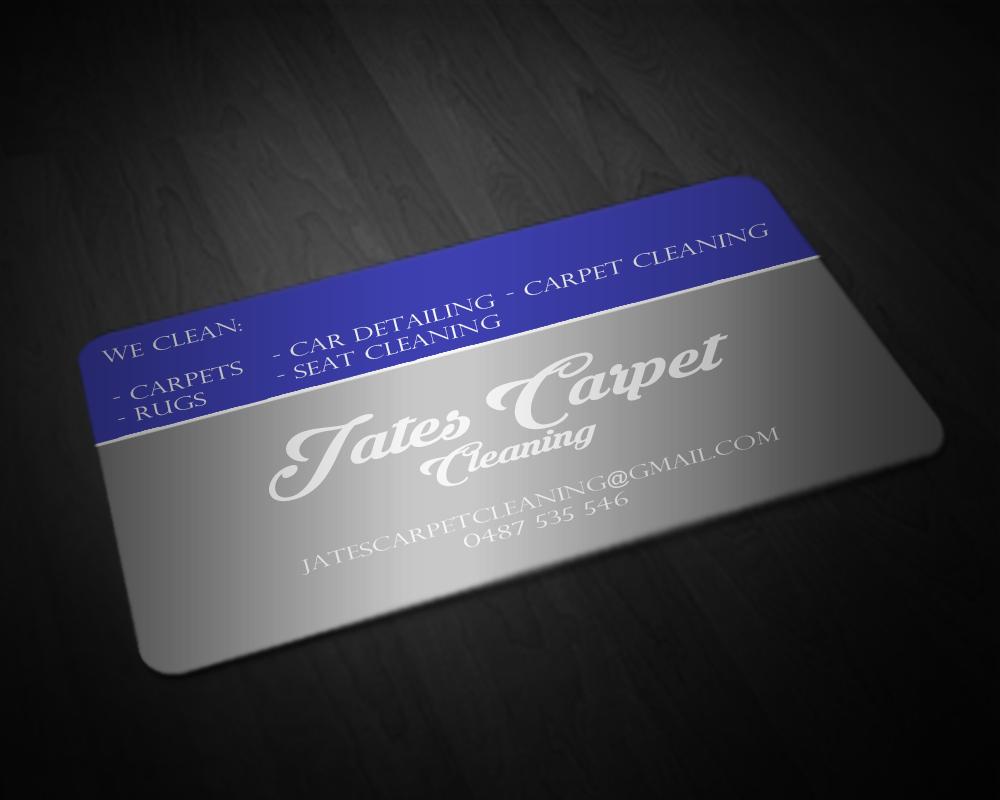 Elegant playful business card design for john fairbank by business card design by anzenamri for carpet cleaning car detailing design 6663747 baanklon Gallery