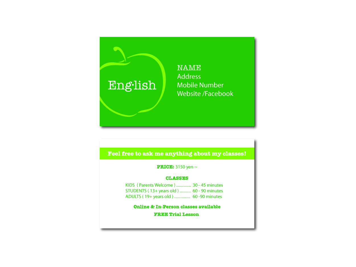 Masculine conservative business card design for junko kido by lb business card design by lb designs for business card design project for an colourmoves