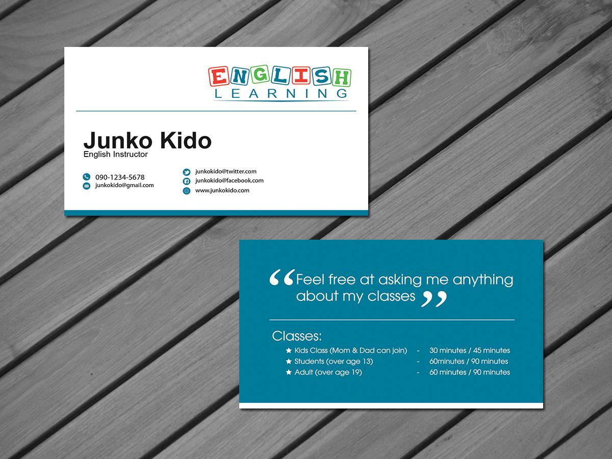 Sticker Business Cards Design