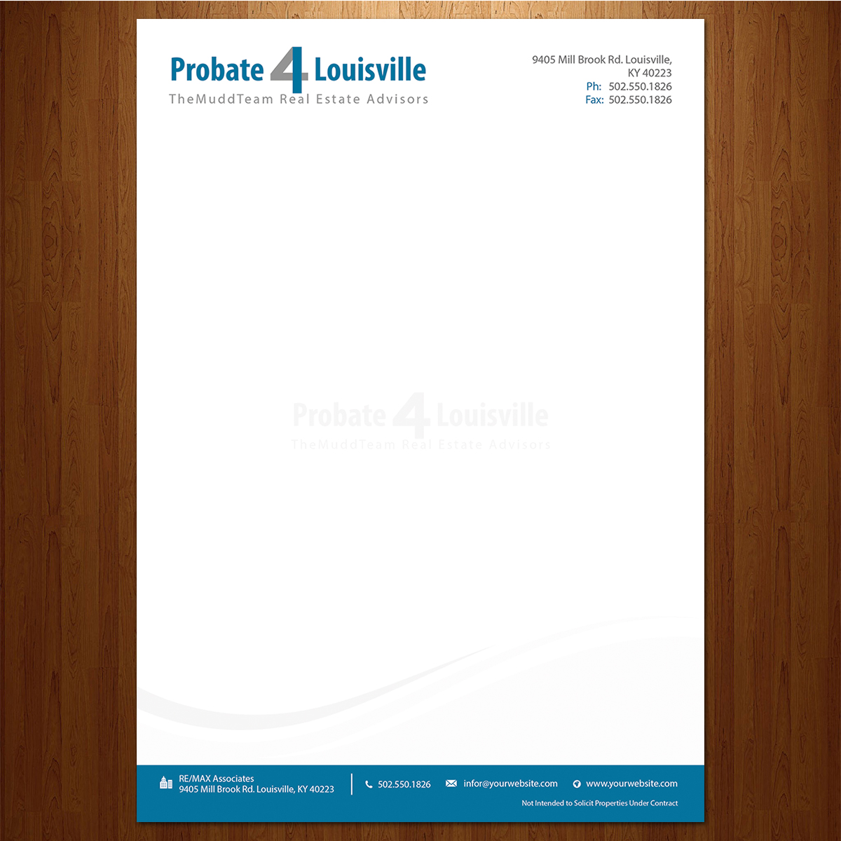 Letterhead Design By VEGA Designs For This Project
