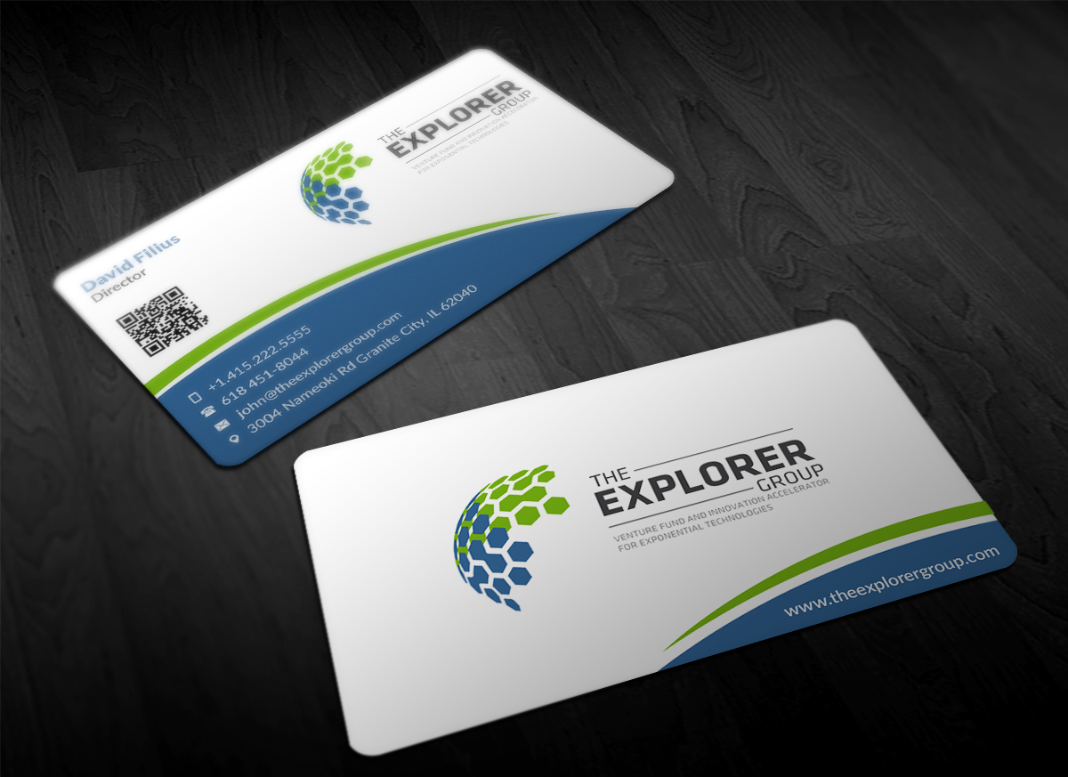 Serious, Modern, Business Business Card Design for The Explorer ...