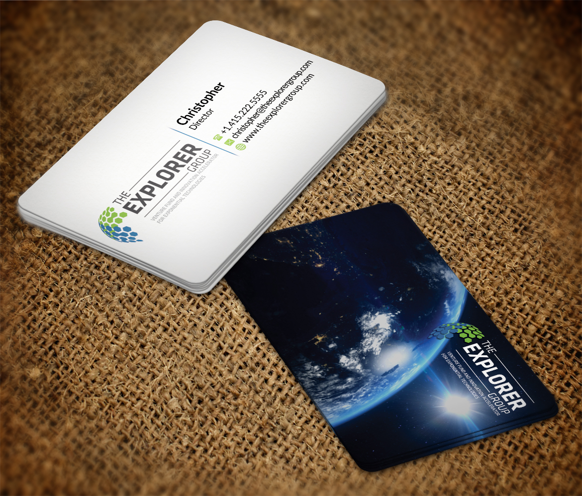 Serious, Modern Business Card Design for The Explorer Group by AFHUN ...