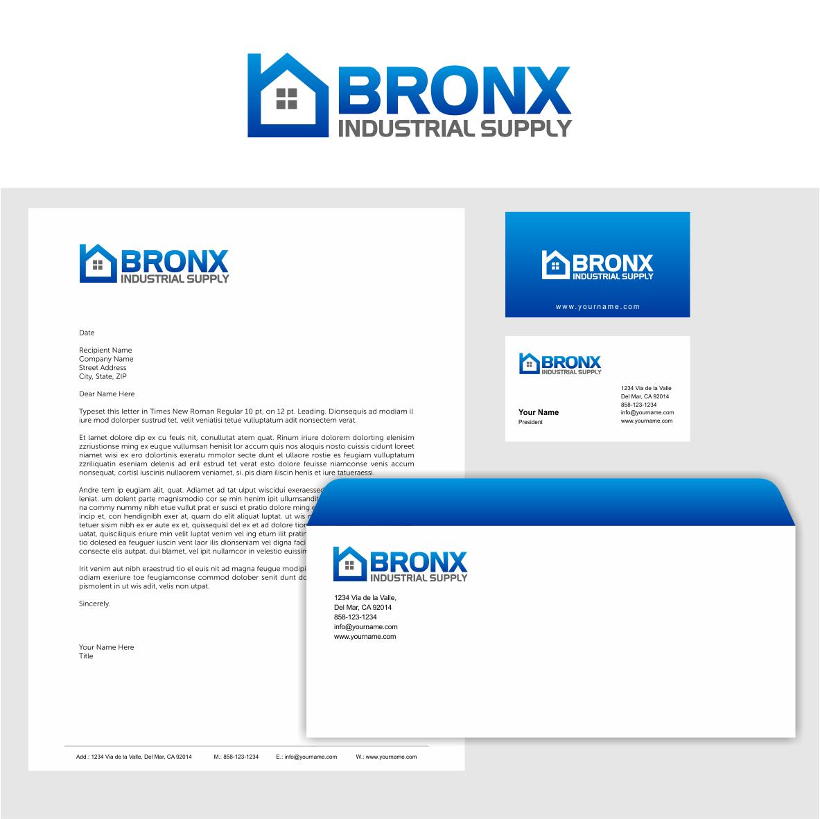 serious conservative retail logo design for bronx