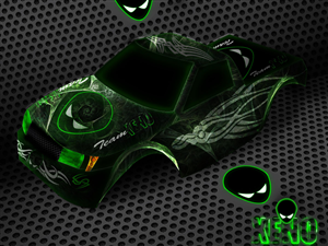 Graphic Design job – RC CAR BODYSHELL – Winning design by Seyvaq.S