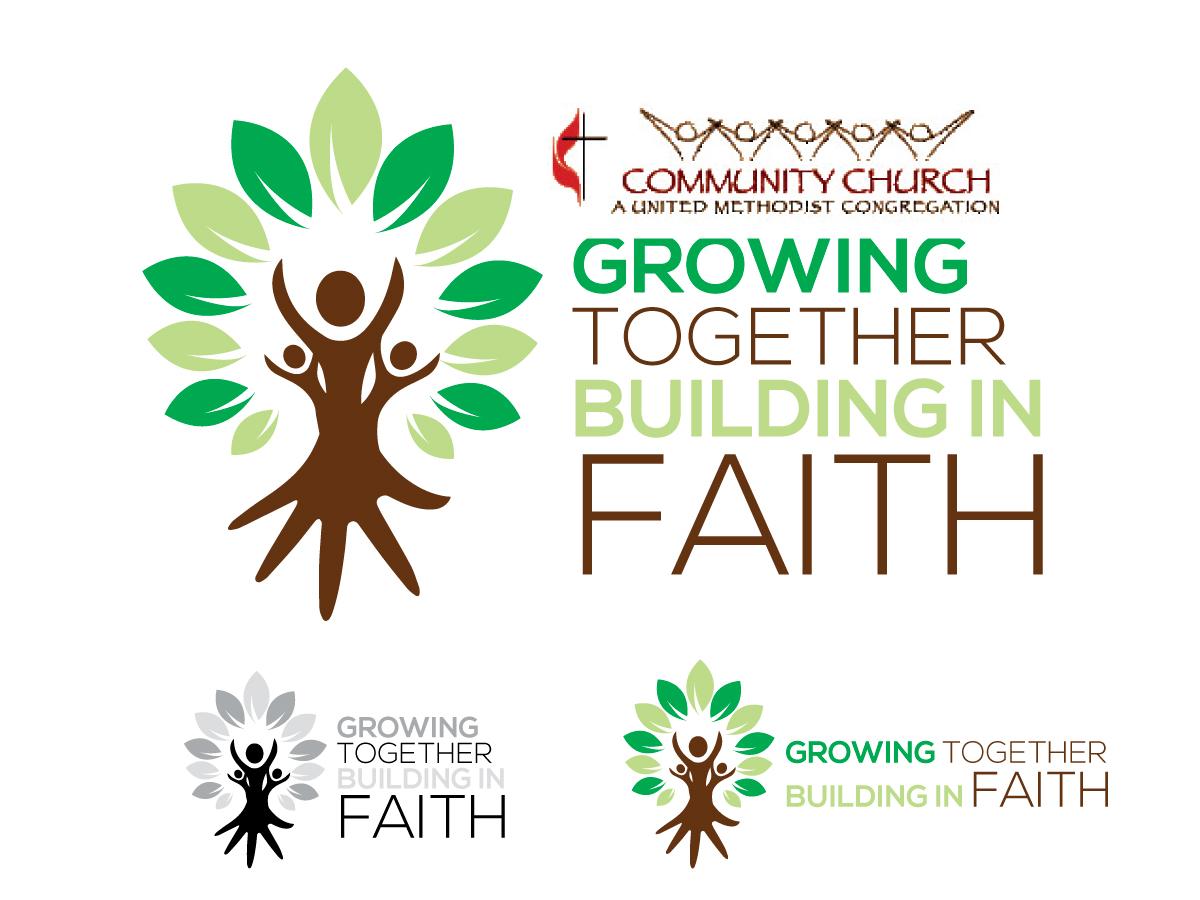 Design de Logo Élégant, Léger, Church pour Growing Together