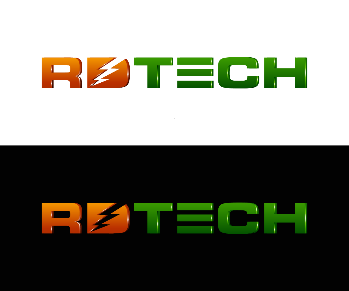 electrical dise241o de logo for rdtech or rd by kenjie0476