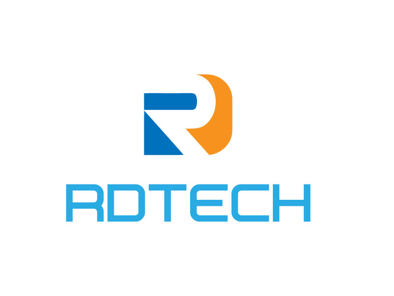 electrical dise241o de logo for rdtech or rd por skynet3