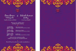 20 bold invitation designs wedding invitation design project for a invitation design by orichalbaud for this project design 6979425 stopboris Choice Image