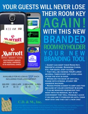 Room Key Wallet Flyer Design   31 Diseños de Flyer para una
