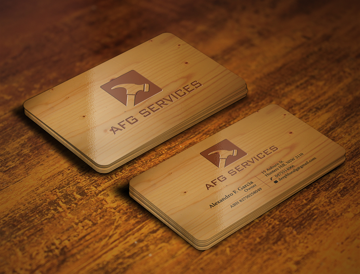 24 Upmarket Business Card Designs | Handyman Business Card Design ...