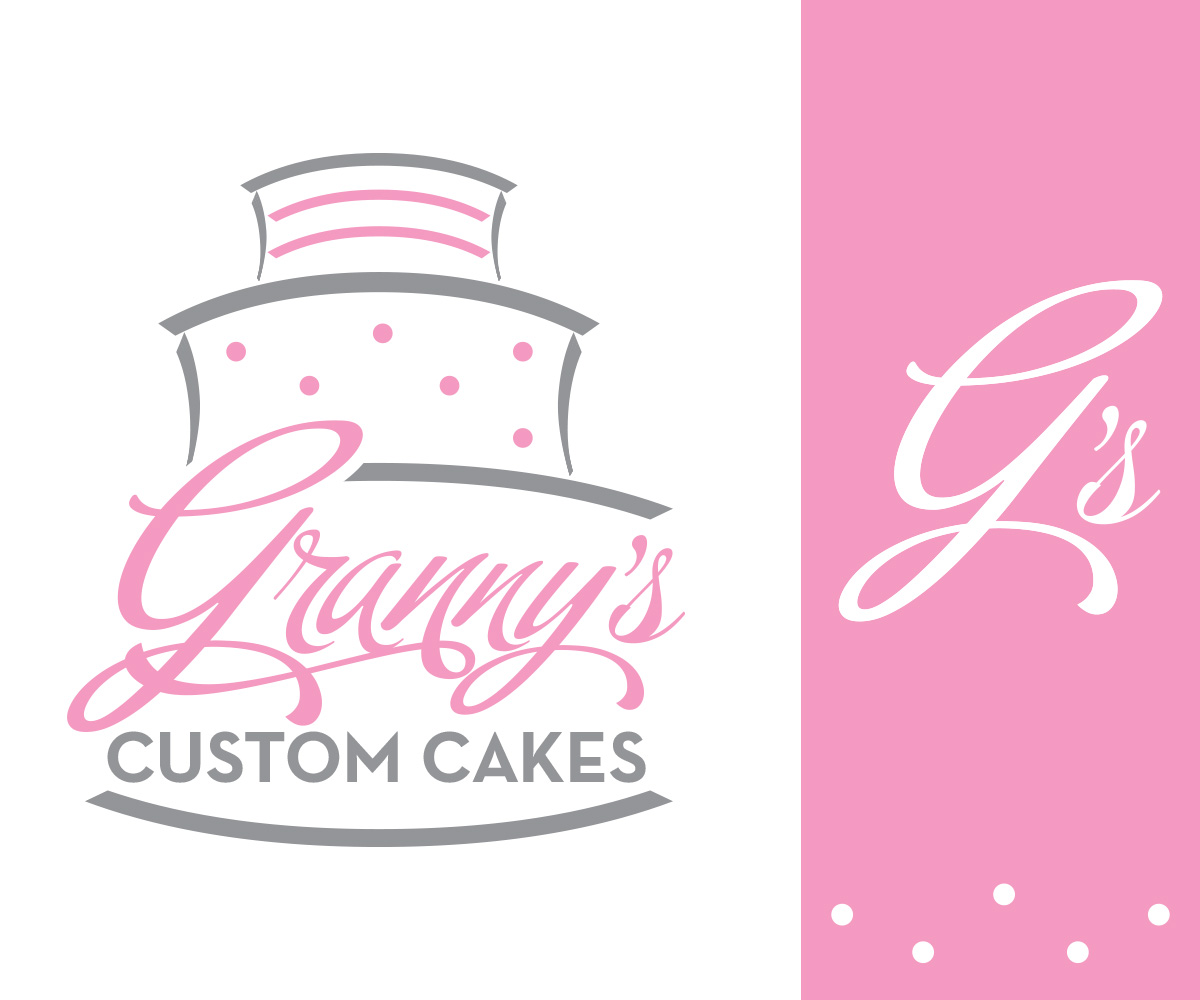 Cake Company Logo Design : Bold, Professional Logo Design for Granny Cakes by ...