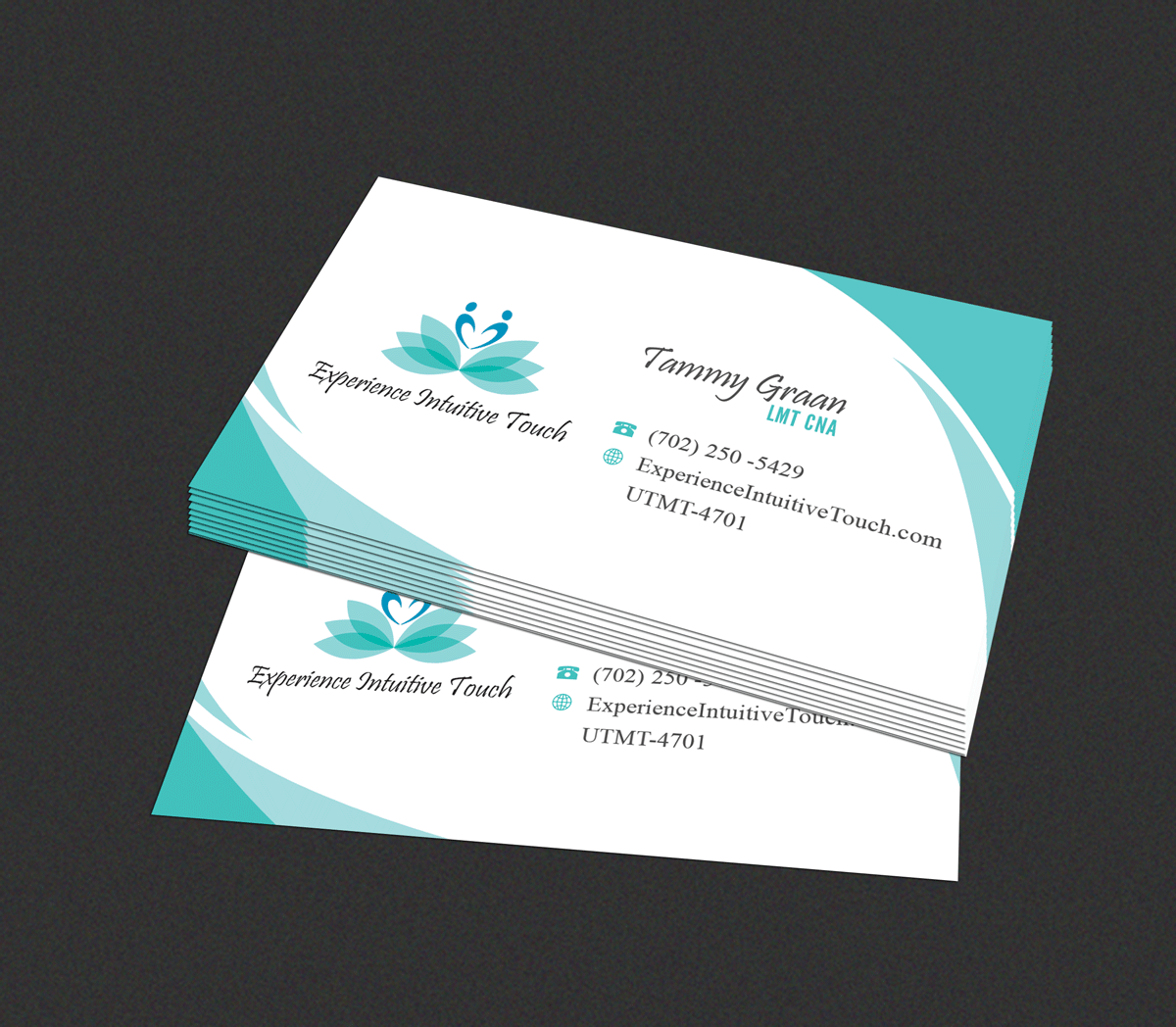 Upmarket, Elegant, Massage Therapy Business Card Design for a ...