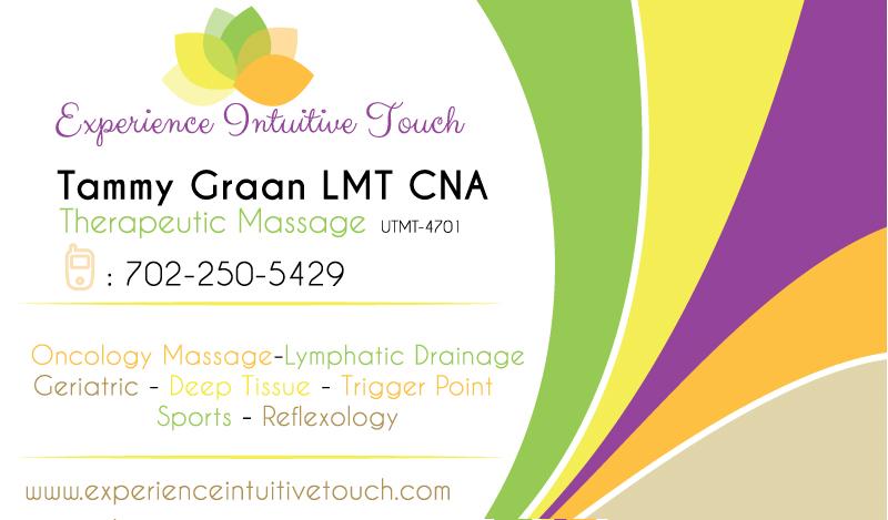 50 upmarket elegant massage business card designs for a massage