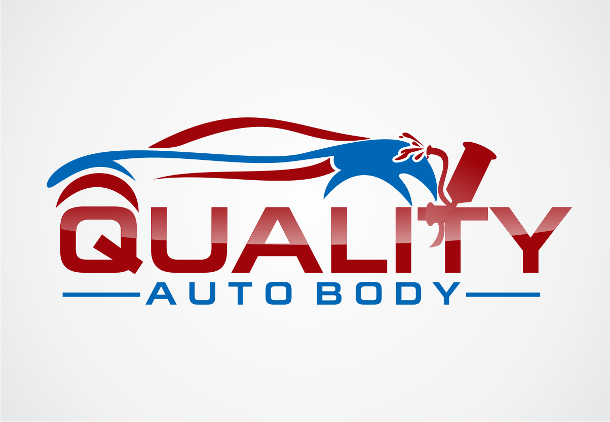 Shop Logo Design For Quality Auto Body By Esolz Technologies