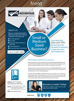 49 Modern Professional Small Business Flyer Designs for a Small ...